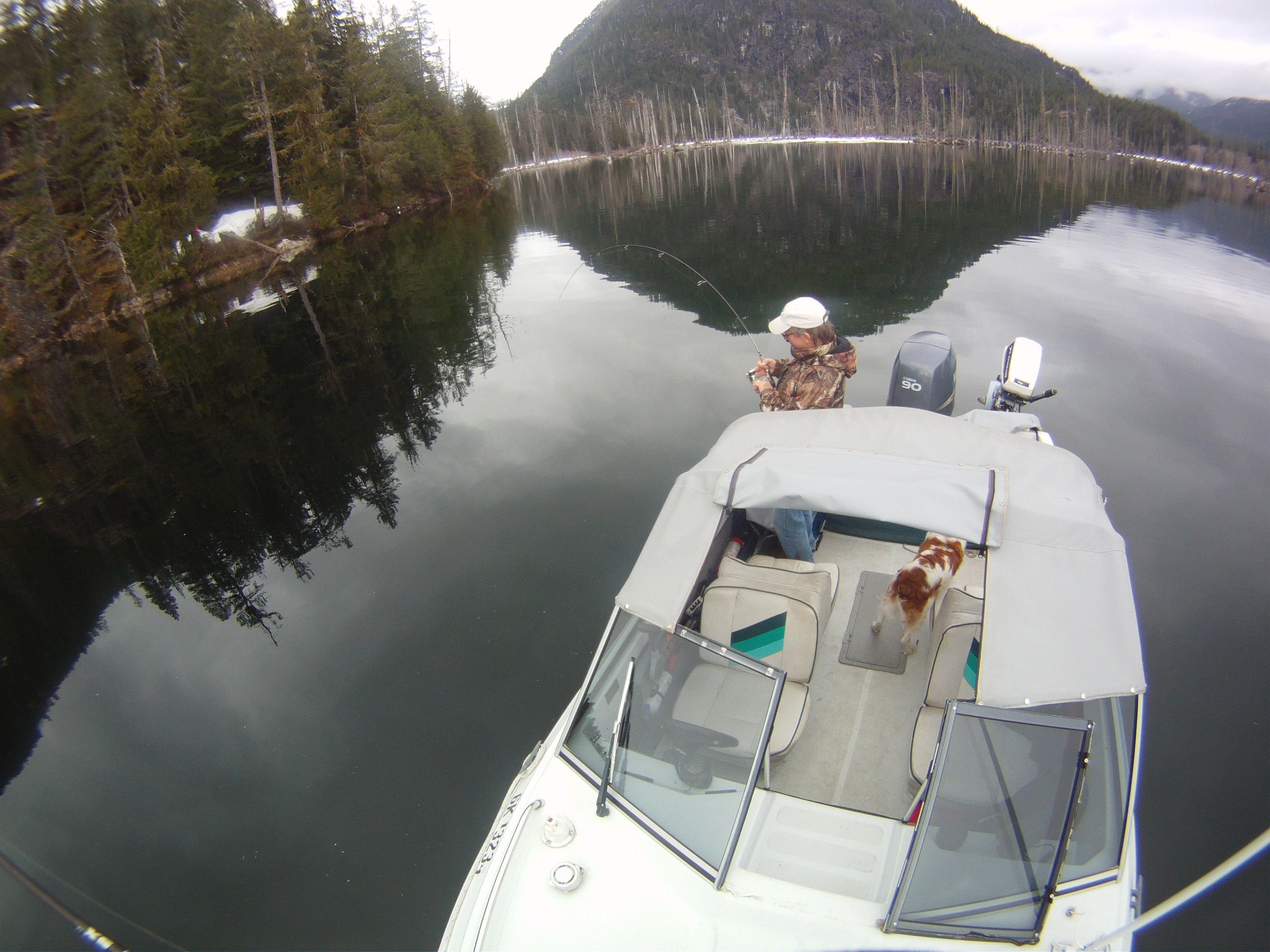 Trout Fishing on Vancouver Island Lakes - The Fishing