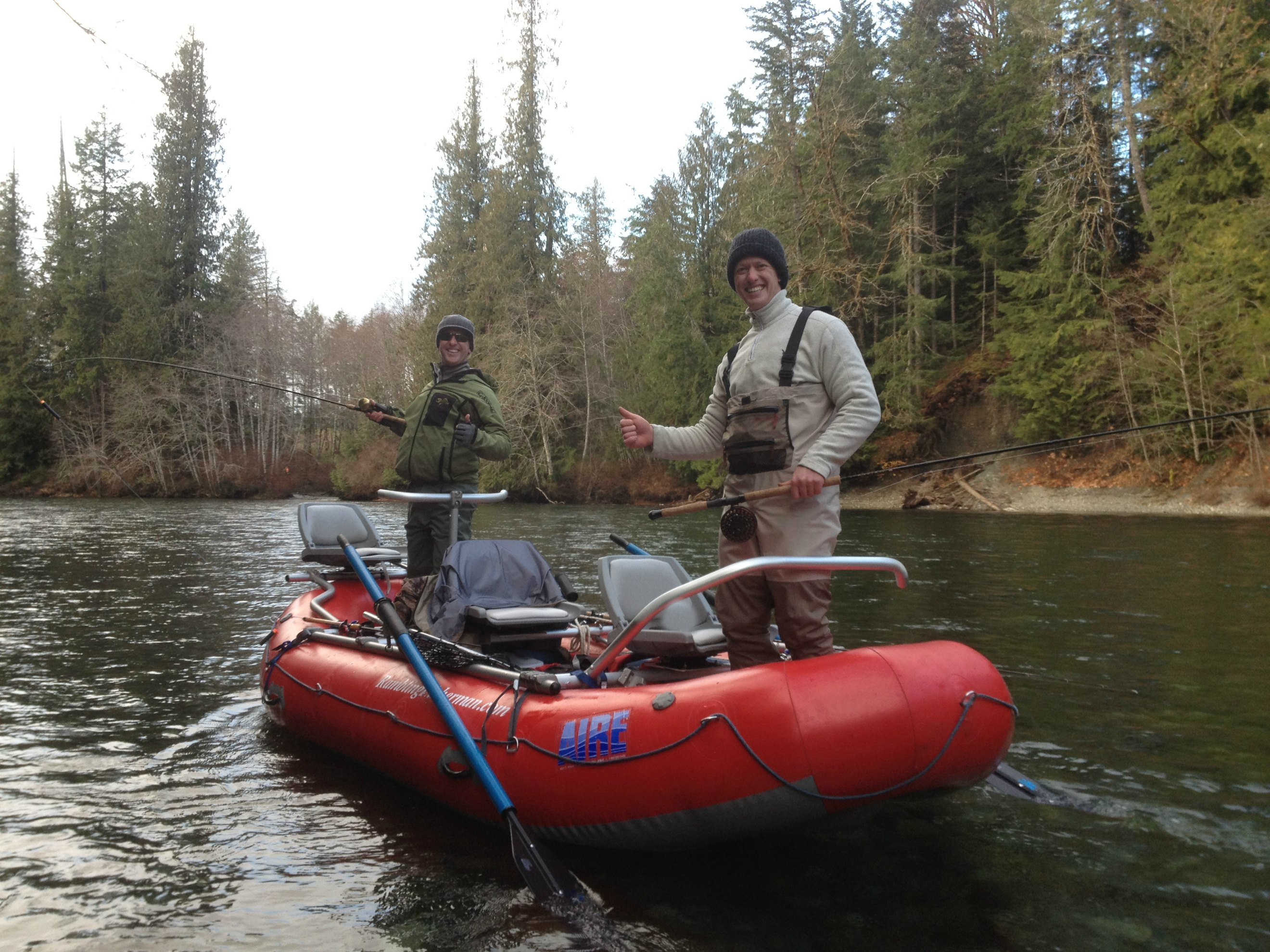 Our river boats the fishing experience the fishing for Fly fishing raft for sale
